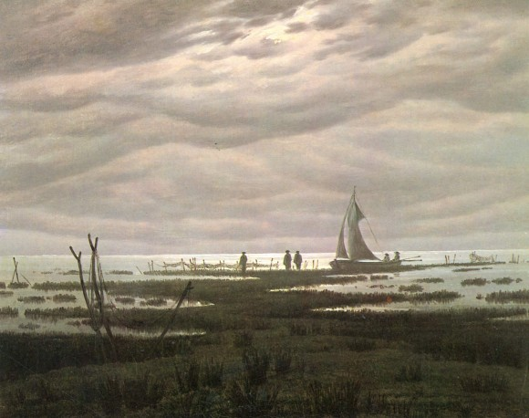 Caspar David Friedrich Wolken in der kunst clouds in art  3 580x458 Wolken in de kunst